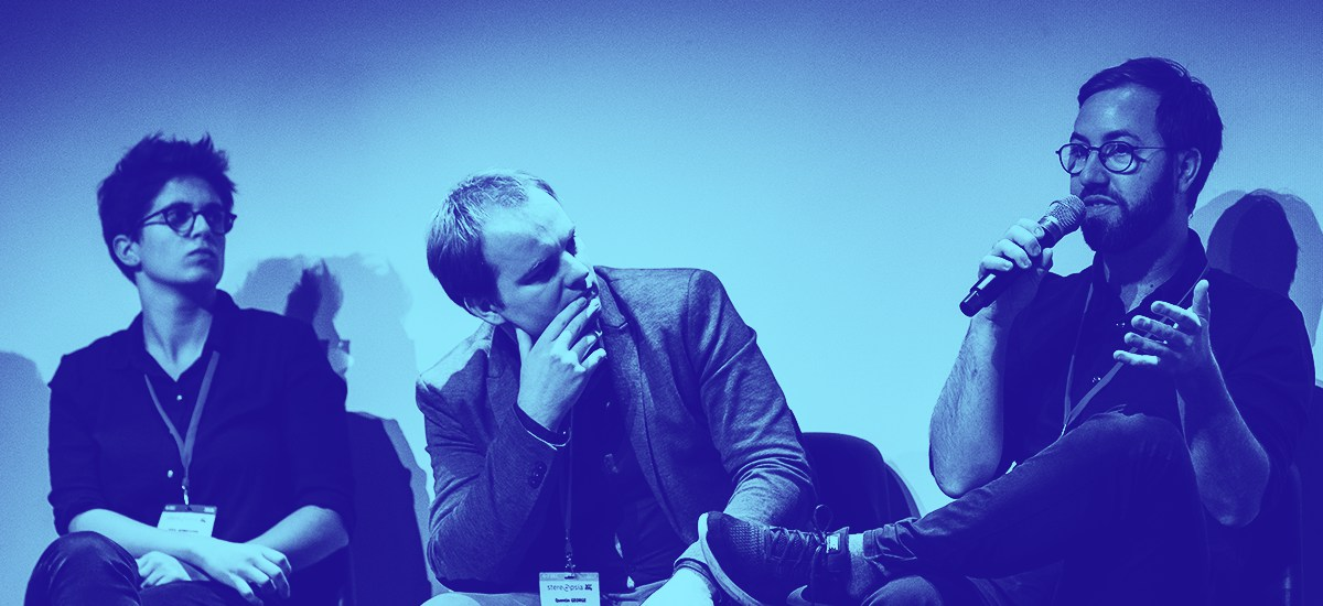 Speakers at a conference