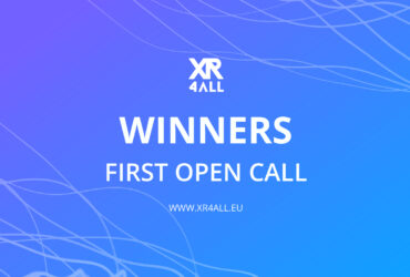 XR4ALL First Open Call Winners