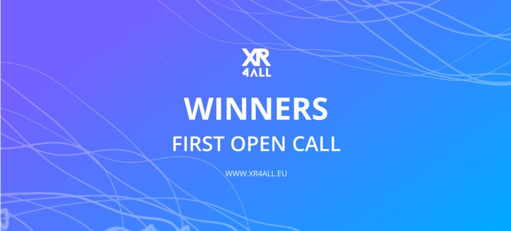 XR4ALL First Open Call Winners